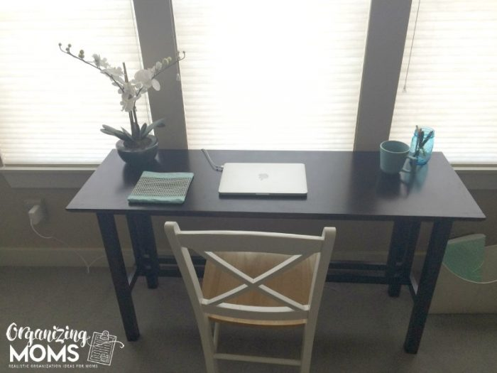 Organized Office organizing your office with stuff you already have - organizing moms