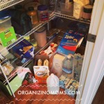 This is what our pantry looked like before we did ten minutes of decluttering.