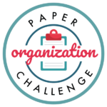 Get your papers organized once and for all! No more piles, clutter, or confusion. Join us for this free paper organization challenge.