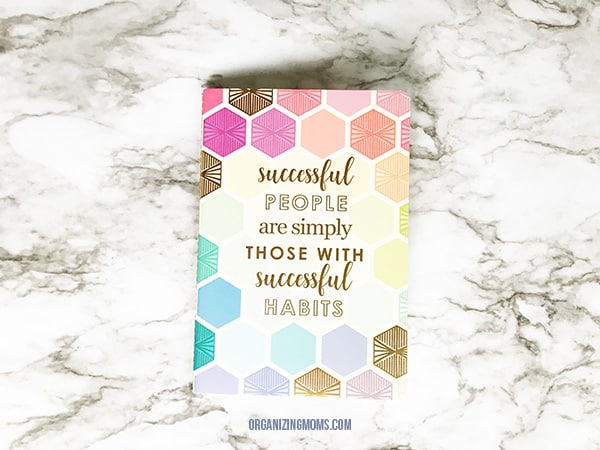 petite journal with checklist pages erin condren