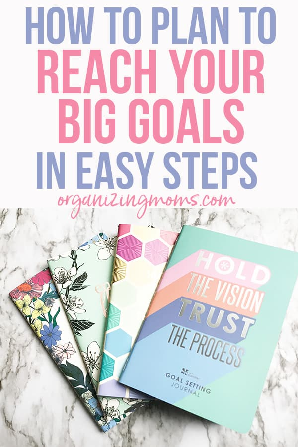 reach your big goals with petiteplanners