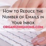 Is your inbox overflowing? Looking for ways to reduce the number of messages in your inbox? This article gives seven steps you can take to greatly reduce the number of emails in your inbox.