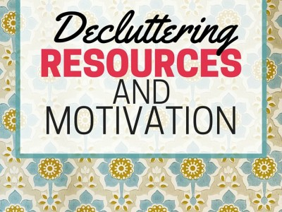 "Decluttering resources and motivation. Something for those who are just starting to declutter their homes, as well as information for ""advanced"" declutterers! Get motivated and inspired!"