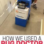Are your carpets a mess? How we used a Rug Doctor rental for end-of-summer cleaning.