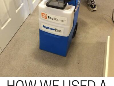 How We Used A Rug Doctor Rental For End