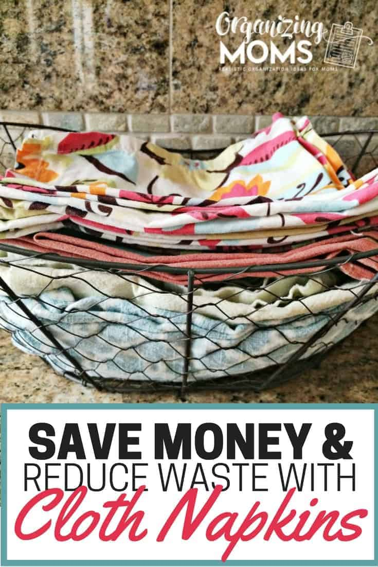 Save Money and Reduce Waste With Cloth Napkins