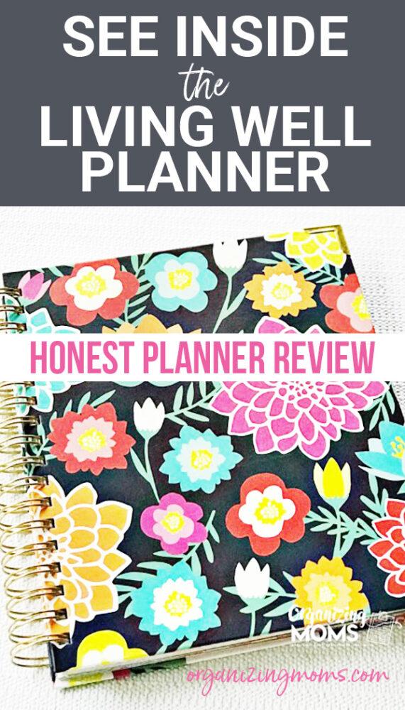 see inside living well planner