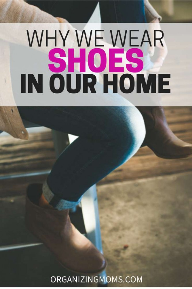 Do you wear shoes in your home? This might make you feel better about it.