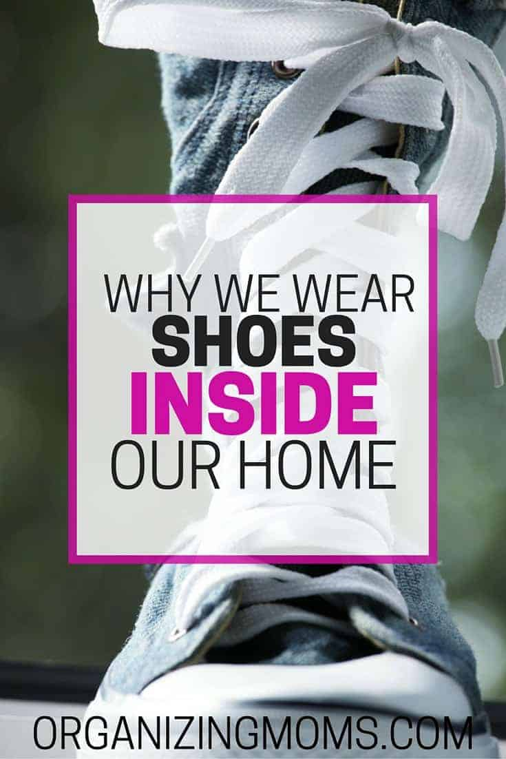 b2b12c8d3f Do you wear shoes in your home? You're not alone! Find out