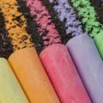 summer supplies sidewalk chalk