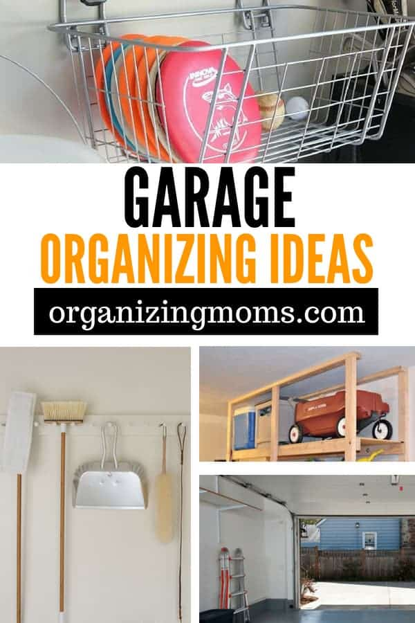 Can't find things in your garage? Here are some super smart ideas to help you organize and declutter your garage. Have everything organized and neat in no time!