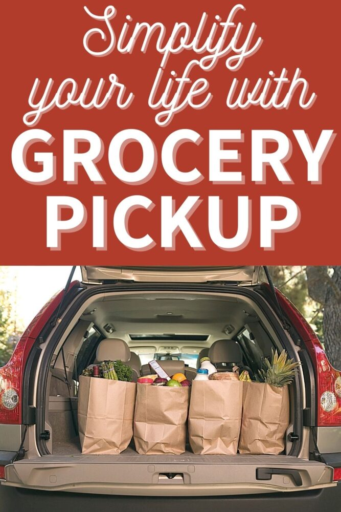 simplify your life with grocery pickup