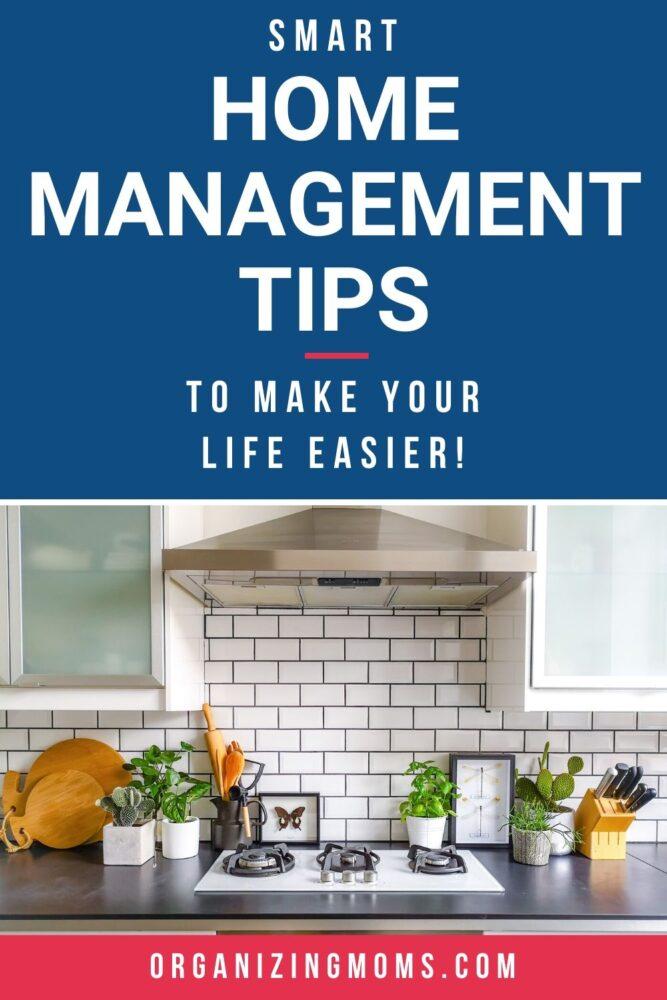 smart home management tips
