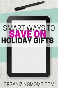 Super smart ways to save on holiday gifts.