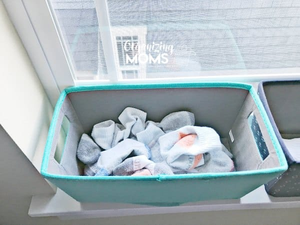 Simplify laundry and organize socks with the sock basket.