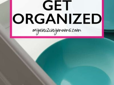what happens when you start to get organized