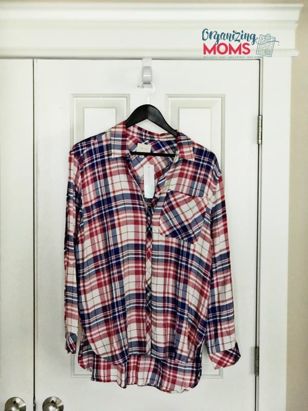 One of my least favorite Stitch Fix picks. There's no way this shirt should be so expensive! Shaelyn one pocket top.