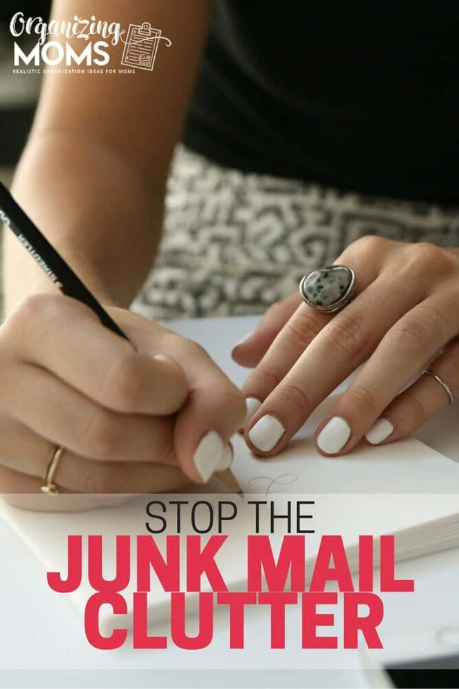Stop spending time sorting through junk mail. Save time and resources and stop the junk mail clutter. Ten tips to help you drastically reduce the amount of junk you receive in your mailbox each day.