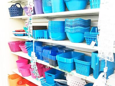 storage baskets bins dollar tree