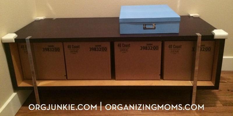 Groovy Easy Diy Storage Bins Organizing Moms Beatyapartments Chair Design Images Beatyapartmentscom
