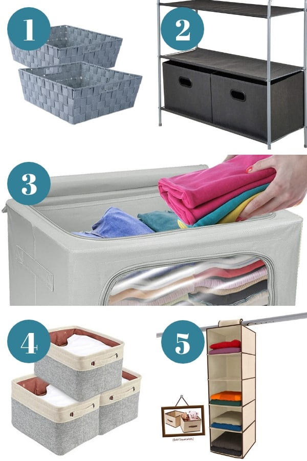 Effective Closet Storage Baskets
