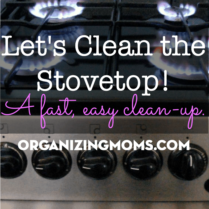 Clean Your Stovetop: Spring Cleaning for Busy Moms