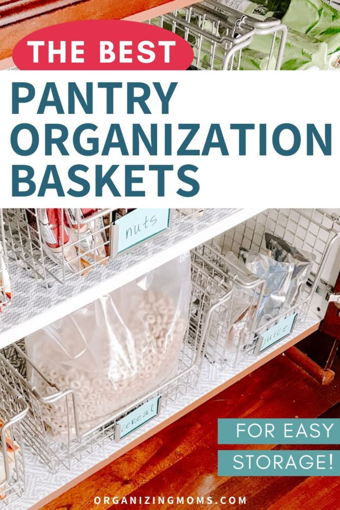 the best pantry organization baskets for easy storage