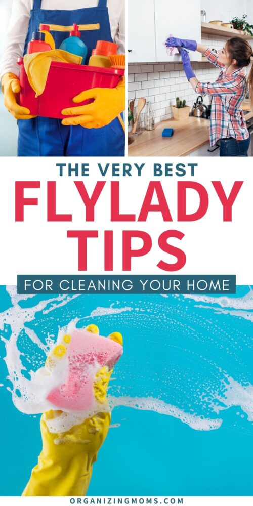 the very best flylady tips for cleaning your home