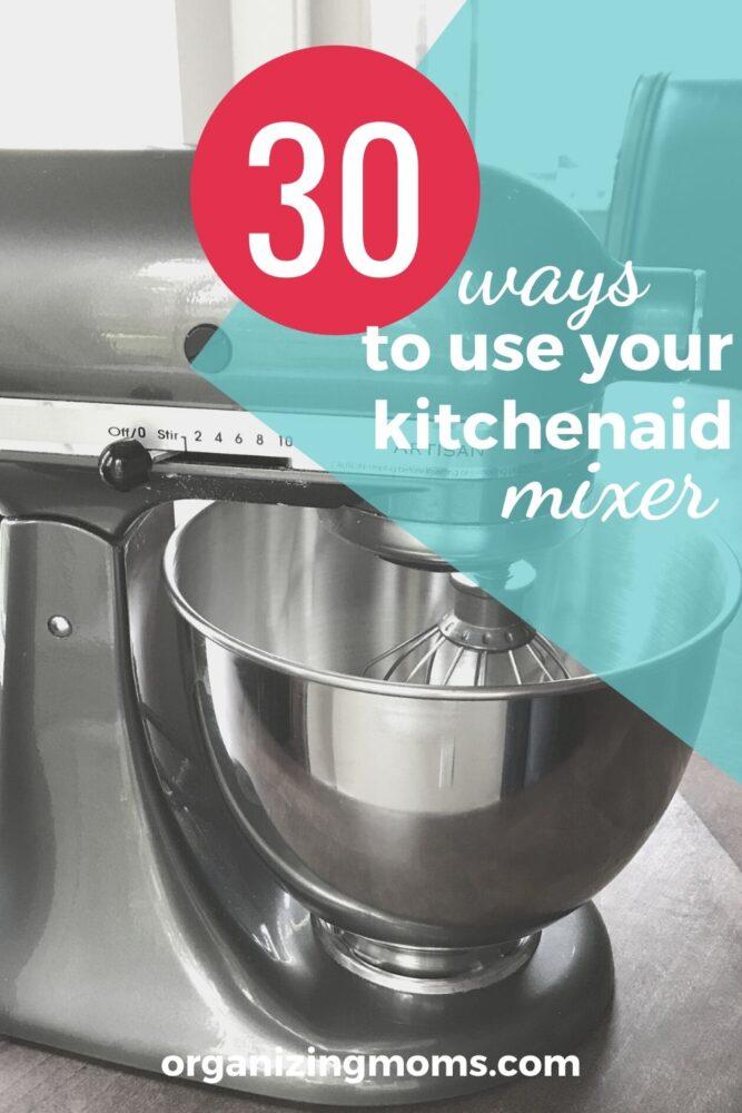 pewter kitchenaid mixer