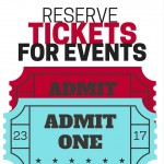 Get your tickets for holiday events now so you can finalize your plans for the season!