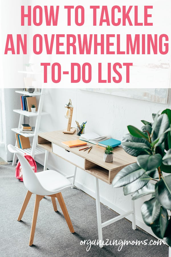 to do list overwhelm