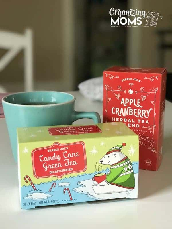 These Trader Joe's teas were some of my favorite things in November. Check out more favorite things on Organizing Moms.