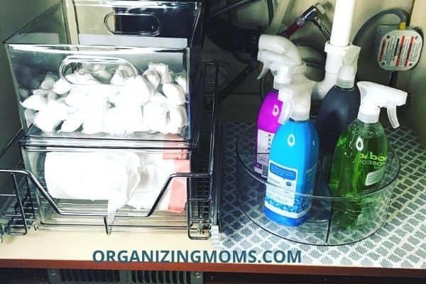 under sink organization idesign organizers