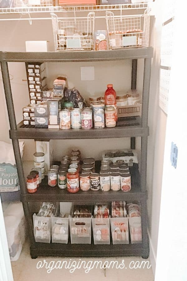 under the stairs pantry