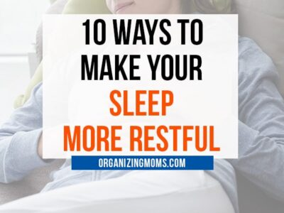 ways to make your sleep more restful