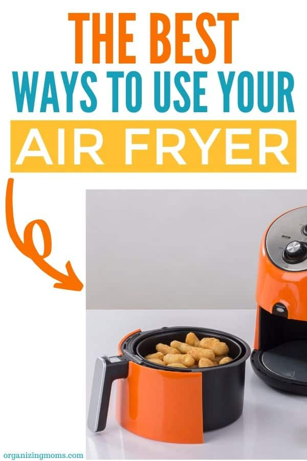 air fryer with fried food how to