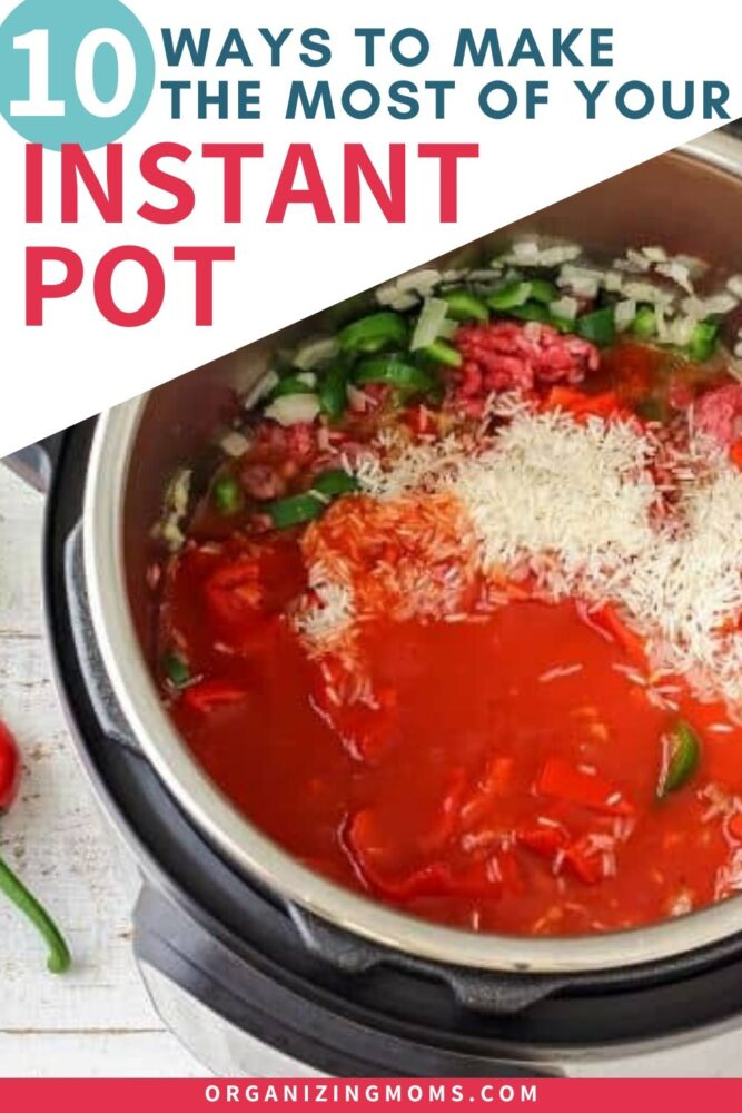 ways to use your instant pot or pressure cooker