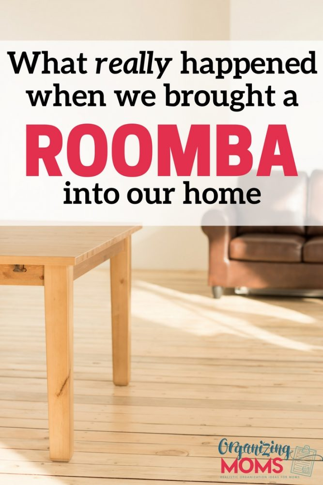 Don't worry - it's not gross! What REALLY happened when we brought a Roomba into our home.