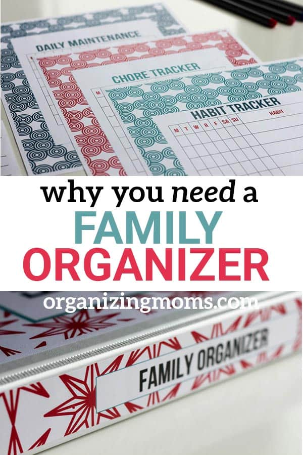 A family organizer can keep all of your important information organized and in one spot. In case of emergency, you can grab it and go. Prep for the unexpected with a family organizer printable set.