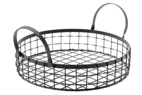 wire basket storage ideas